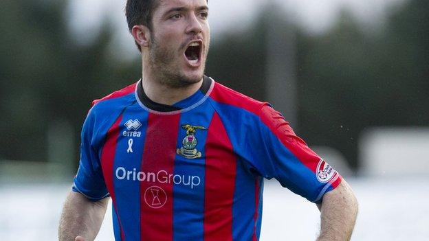 Golobart is on loan at Caledonian Stadium from Wigan Athletic