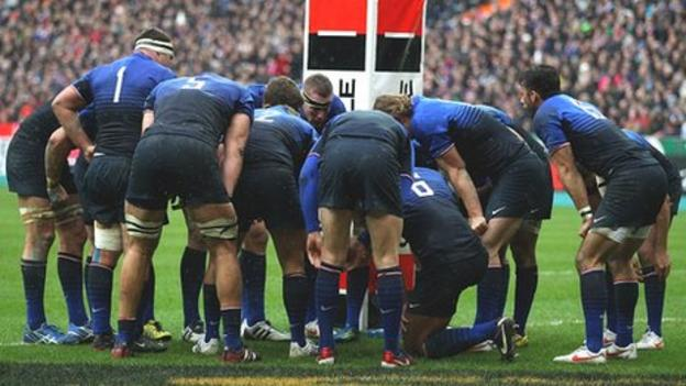 France named an unchanged squad to play England on Sunday