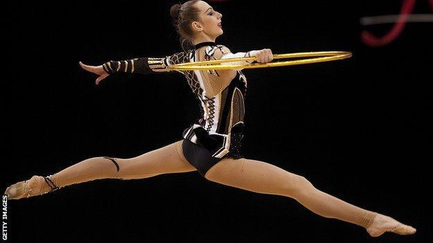 Rhythmic gymnast