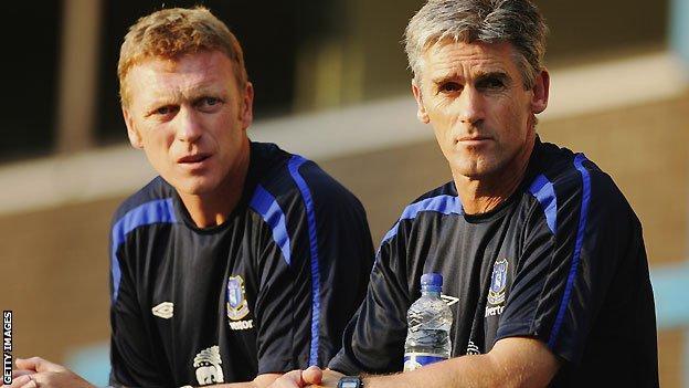 David Moyes (left) and Alan Irvine