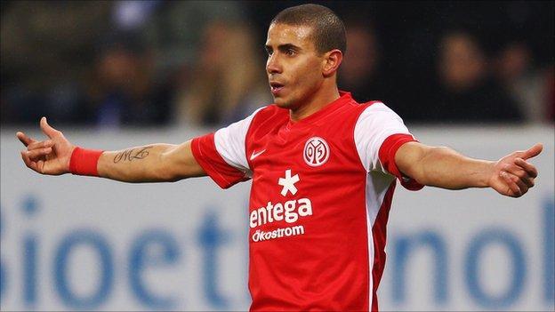 Mainz's Egyptian international Mohamed Zidan