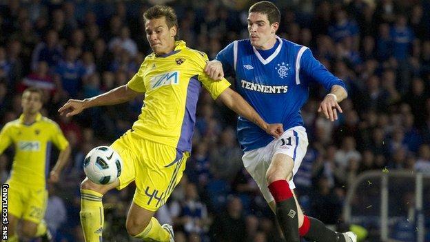 Rangers v MK Maribor