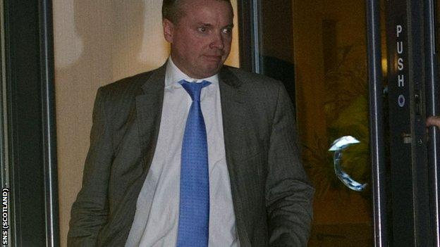Whyte is in a legal battle with Rangers' administrators
