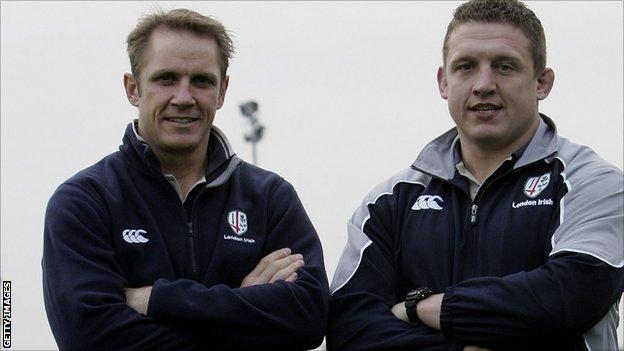 Brian Smith and Toby Booth