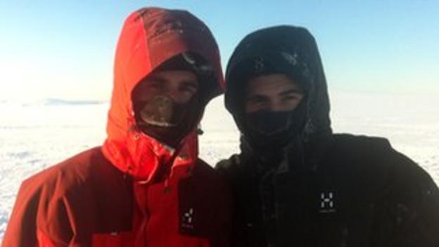 The Borlée twins have adapted well to the harsh Arctic conditions