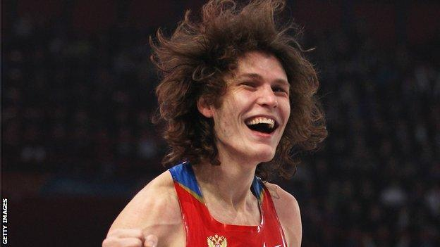 Ivan Ukhov at the European Indoor Championships in Paris