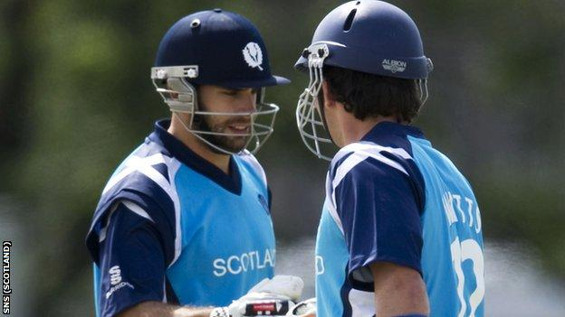 Scotland begin their World Twenty20 qualifying campaign on Tuesday