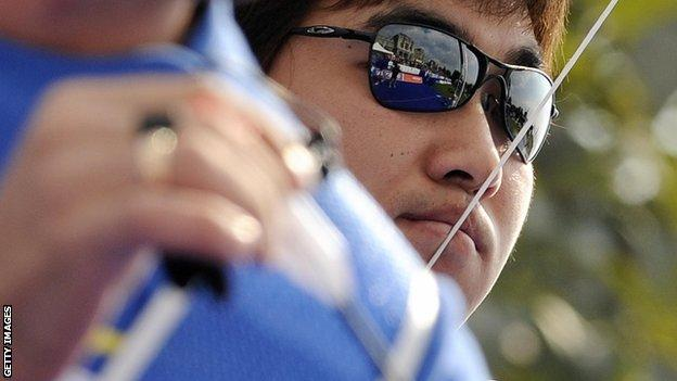 Im Dong-Hyun, South Korea's Olympic archer