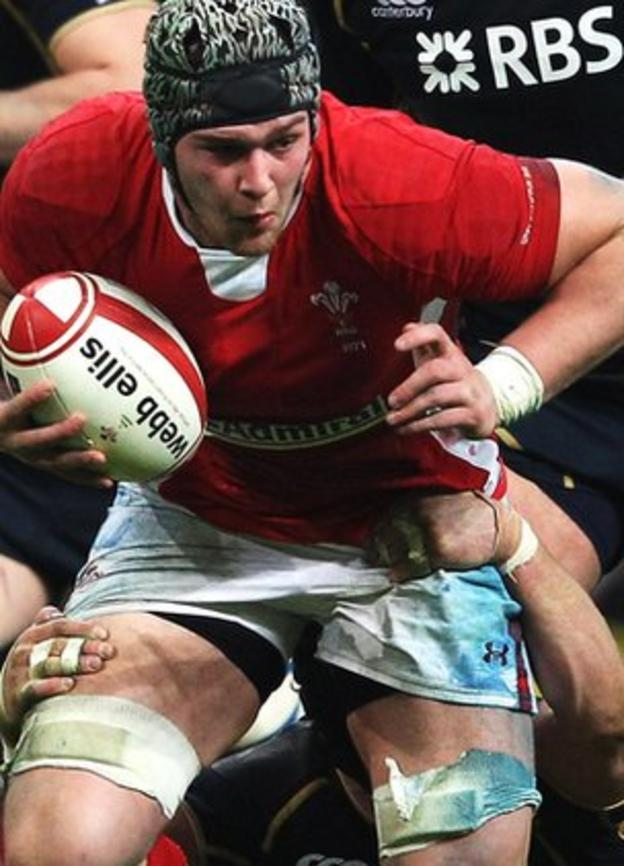 Dan Lydiate on the charge against Scotland