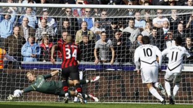 Joe Hart saves Scott Sinclair's penalty