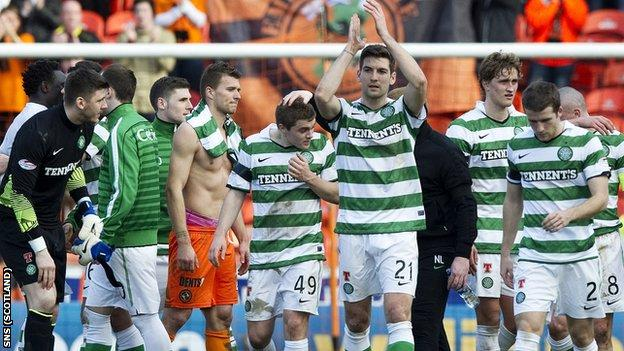 Celtic remain on course for a domestic Treble