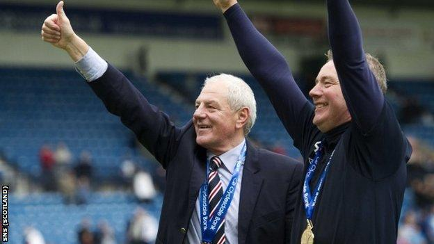 Smith and McCoist are united again in trying to raise funds