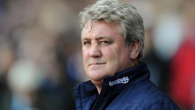Steve Bruce set to open talks with Wolves