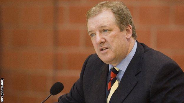 Former Rangers Sir David Murray