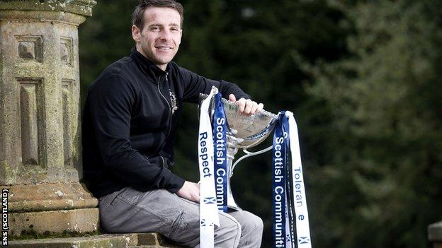 Kilmarnock's Garry Hay promotes Sunday's League Cup final