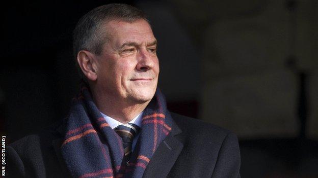 Scottish FA president Campbell Ogilvie