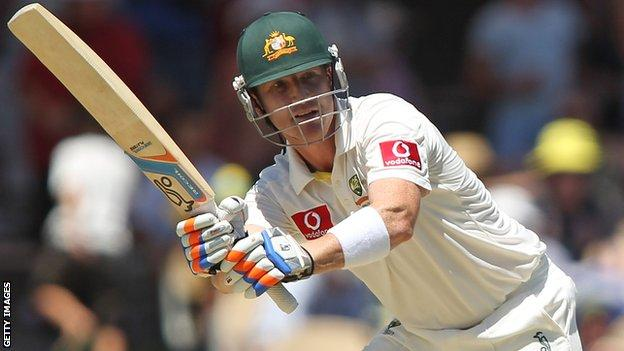 Australia wicket keeper Brad Haddin