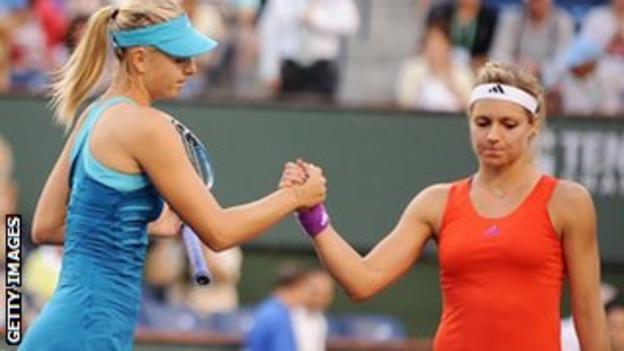 Maria Sharapova and Maria Kirilenko
