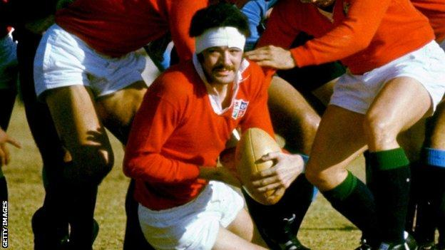 Mervyn Davies went on two victorious British and Irish Lions tours in 1971 and 1974.