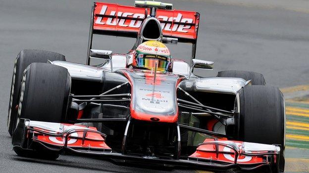 Lewis Hamilton, Australian GP