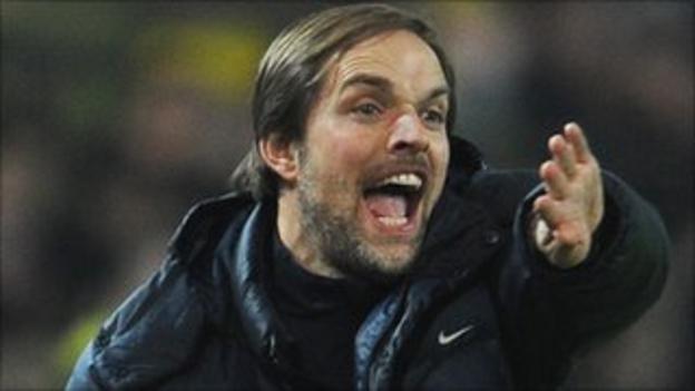 Mainz 05 coach Thomas Tuchel