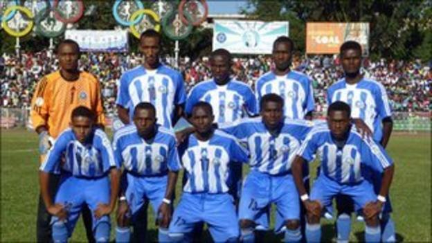 Somalia's national football team