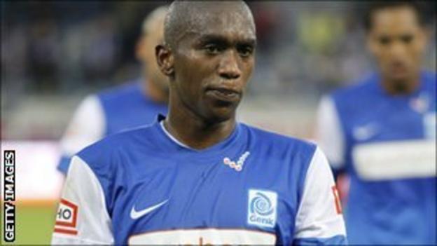 Genk's South African defender Anele Ngongca