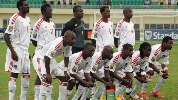 Malawi's football squad