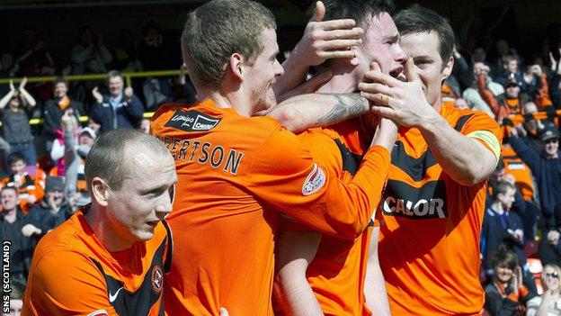 Dundee United were 2-1 winners against Rangers