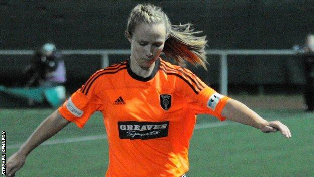 Eilish McSorley scored twice in Glasgow City's win