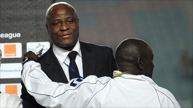 Constant Omari Selemani, president of the Democratic Republic of Congo's FA