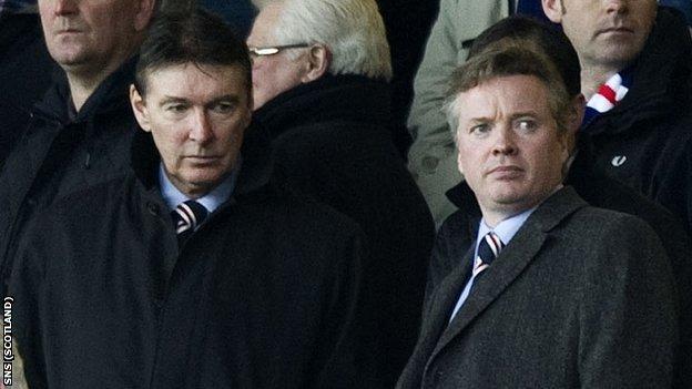 Gordon Smith and Craig Whyte