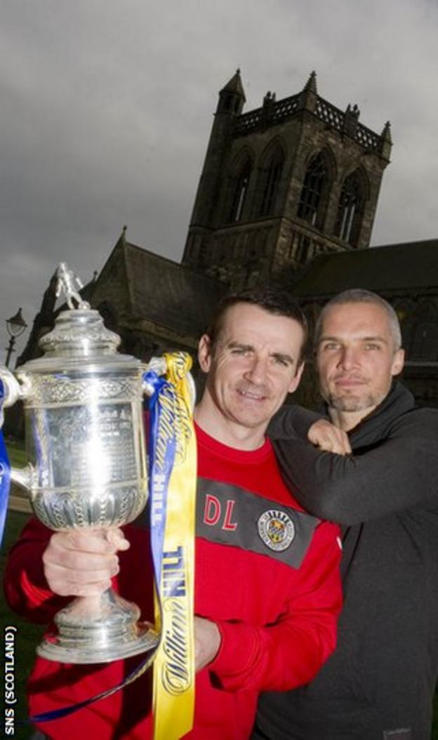 Lennon and captain Jim Goodwin hope the Cup bell tolls for Hearts in Paisley