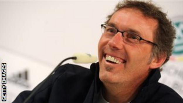 France national football team's head coach Laurent Blanc