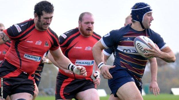 Redruth lost at Old Albanians in November