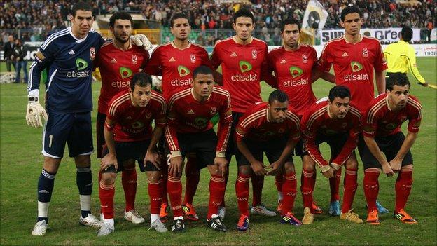 Egyptian team Al Ahly