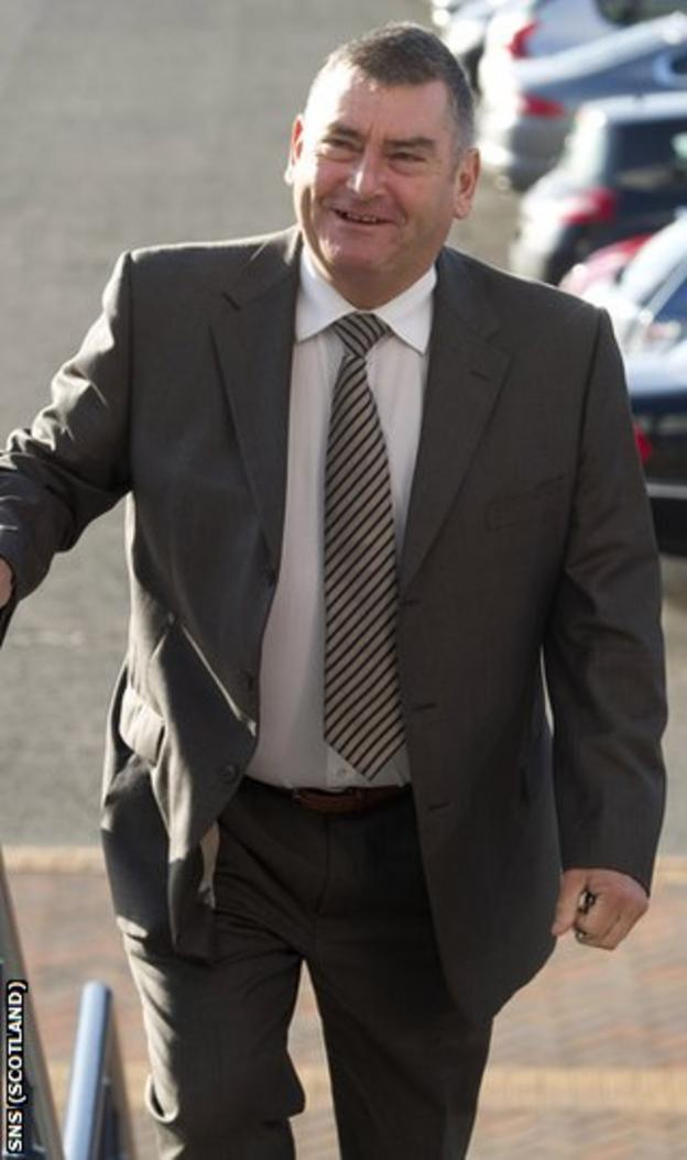 Gilmour does not want to deal further with McGeoch's bid