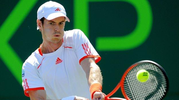 World number four Andy Murray