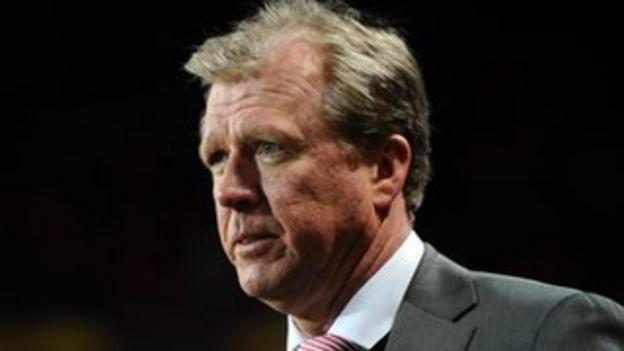 Former England boss Steve McClaren