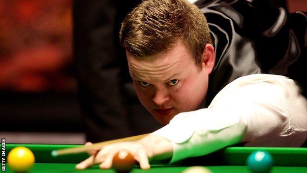 Snooker player Shaun Murphy