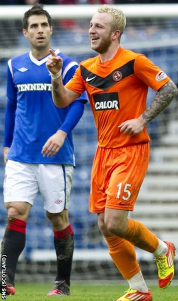 United knocked Rangers out of the Scottish Cup by 2-0 at Ibrox