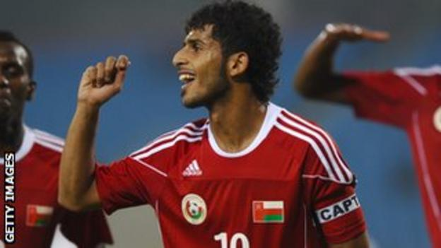 Oman under-23 captain Hussain Al Hadri