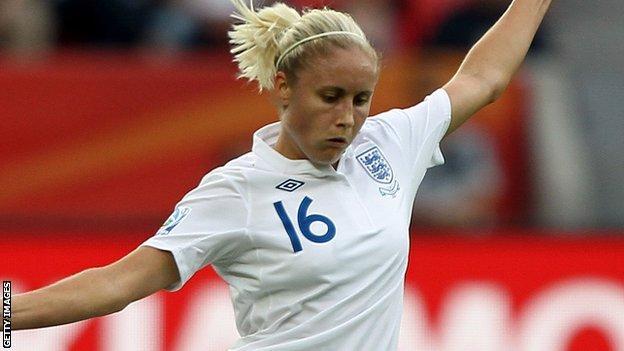England Women's Steph Houghton