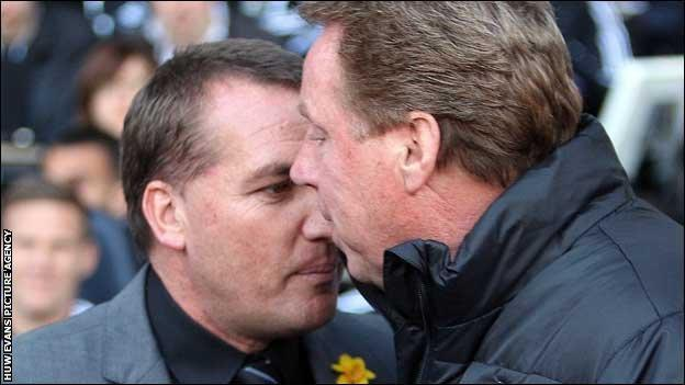 Brendan Rodgers and Harry Redknapp