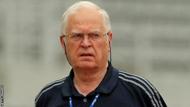 Athletics coach Malcolm Arnold