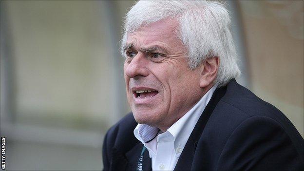 Preston North End chairman Peter Ridsdale