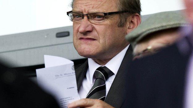 St Mirren director Ken McGeoch