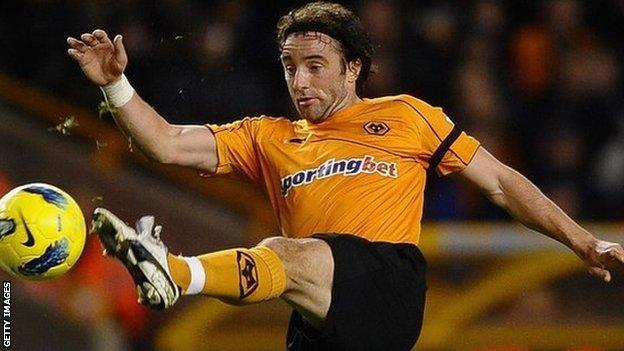 Wolves midfielder Stephen Hunt