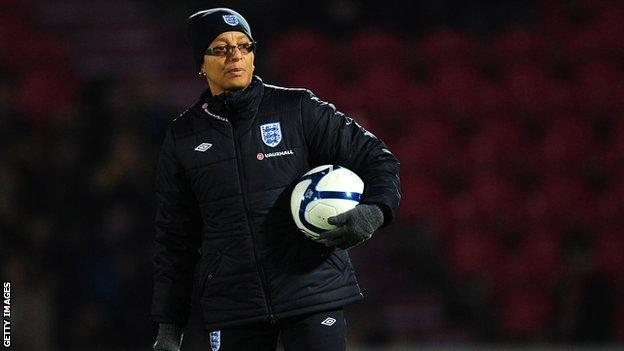 England manager Hope Powell