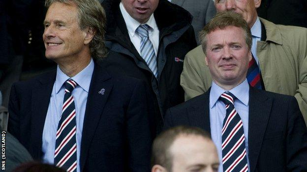 Johnston opposed the sale of the club to Whyte last year